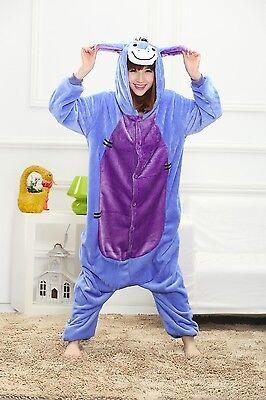 Hot Sale! Adult Unisex Kigurumi Pajamas Animal Cosplay Costume Onesie Sleepwear