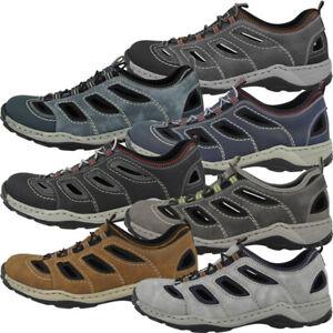 Details zu Rieker Chios Scuba Schuhe Men Herren Freizeit Halbschuhe Slipper Sandalen 08065