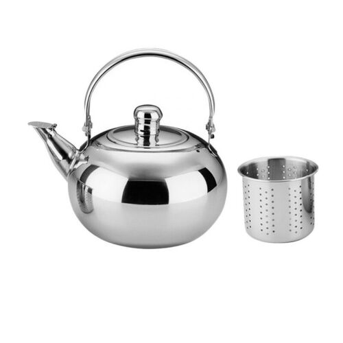 Stainless Steel Tea Kettle Teapot for Stove Top Fast Boil Water Coffee 1-2.5L