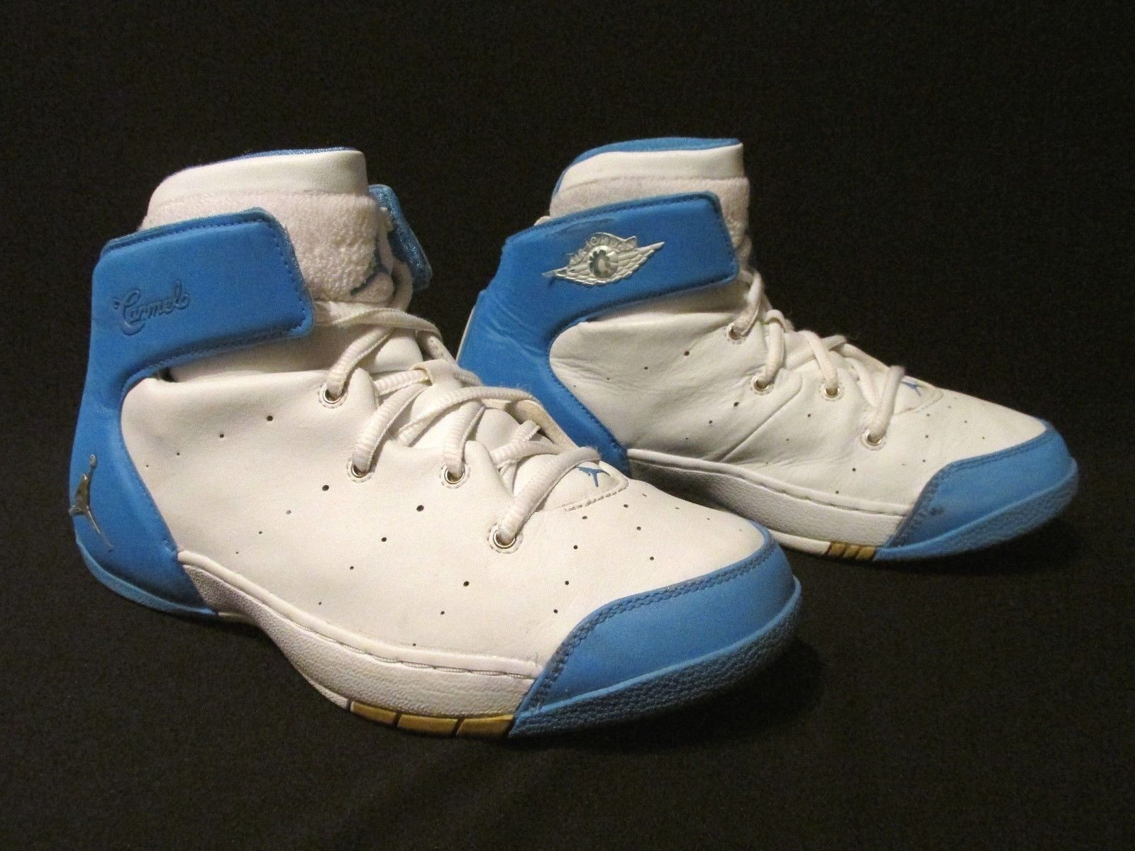 Nike Jordan Melo Carmelo 2004 White Basketball Blue Basketball White  040911Youth  US 6.5 Y e9f937