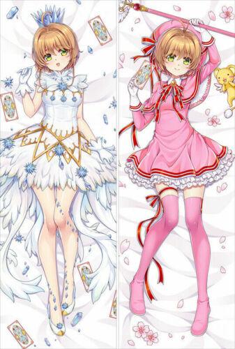 Anime Card Captor KINOMOTO SAKURA Dakimakura Hug Body Pillow Case Cover 150CM