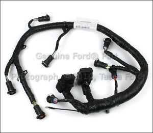 ford f 250 trailer wiring harness diagram oem fuel injector wire wiring harness 2005-2007 ford f250 ... #13