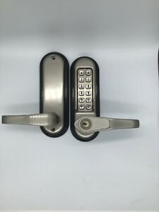 Mechanical Keyless Entry Door Lock Digital Code Keypad Password Knob Combination