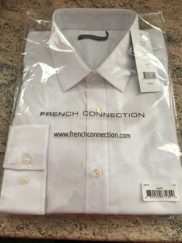 neuf dans emballage. French Connection homme chemise blanche Taille 1XL