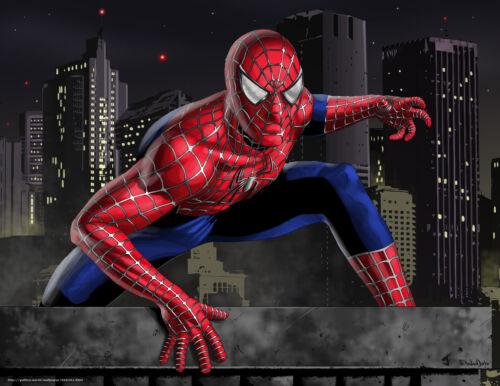 Spiderman Marvel Avenger Super Hero Wall Sticker Poster Vinyl Decal Character 24