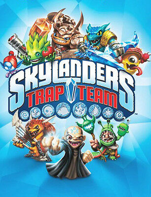 Skylanders Trap Team Custom Edible WAFER Cake Party Decoration Topper Image