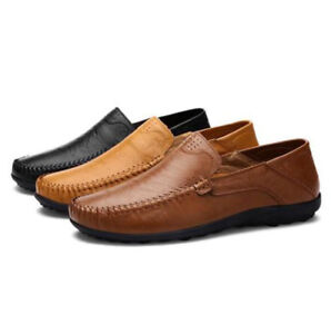 New Men's Driving Casual Boat Shoes Slip On Loafers