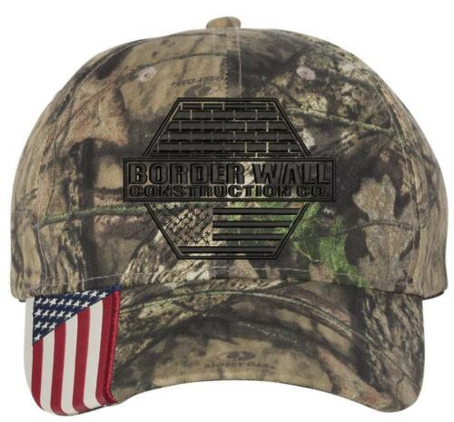 Hat BORDER WALL CONSTRUCTION COMPANY 12 PACK Donald Trump MAGA Embroidered Adj