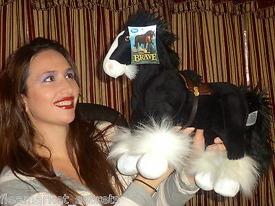 Disney Authentic BRAVE Merida's Horse Angus BIG Plush Stuffed LOVEY NEW TAG TOY!