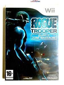 Rogue-Trooper-Pal-Spa-Wii-Scelle-Neuf-Scelle-Produit-Parfait-Etat-Nouveau