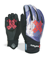 Level Glove Glove Ski Gloves Blade Runner Blau Itouch Thermal