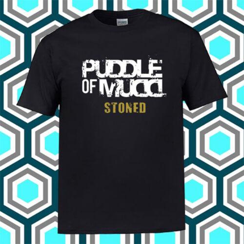 Puddle of Mudd Rock Band Legend Stoned Logo Black T-Shirt Size S M L XL 2XL 3XL