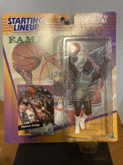 1998 FAME College Starting Lineup Patrick Ewing Georgetown New York Knicks HOF