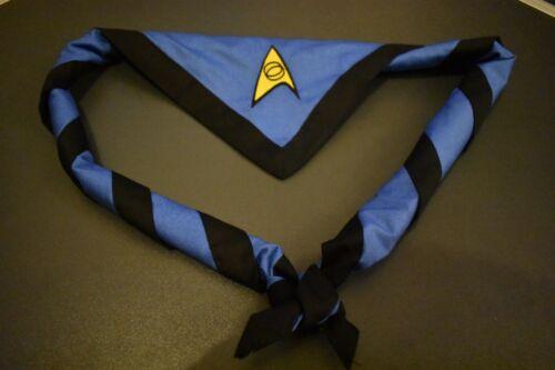 Scout Nerdy Necker//Scarf Star Trek Science Blue