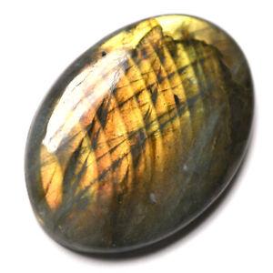Cts-48-90-Natural-Multi-Orange-Golden-Labradorite-Cabochon-Oval-Loose-Gemstone