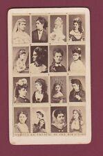 CDV - 210314 - Photo montage : Artistes du théâtre du vice roi du Caire Egypte