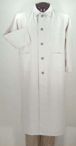 Victorian Mens Suits & Coats Natural Linen Jesse James DUSTER COWBOY SASS $65.95 AT vintagedancer.com