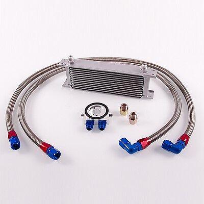 13 Reihen Ölkühler Nachrüstkit m. Thermostat VW Audi S3 Golf 1,8T 16V Turbo VR6