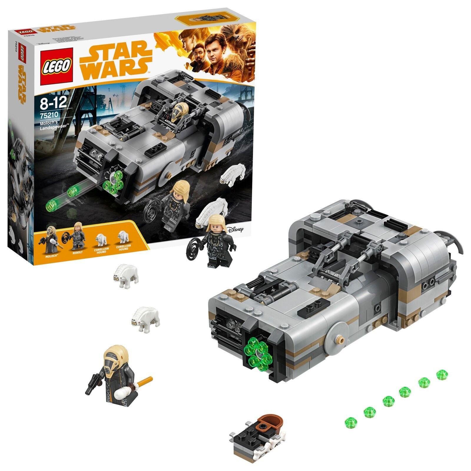 LEGO ® Star Wars Wars Wars ™ 75210 Moloch's Landspeeder ™ Nouveau neuf dans sa boîte NEW En parfait état, dans sa boîte scellée Boîte d'origine jamais ouverte eb64fd