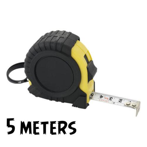 SMOOTH RECOIL 55103C METRIC LOCK BLADE 19MM 5M 16FT MEASURING POCKET TAPE