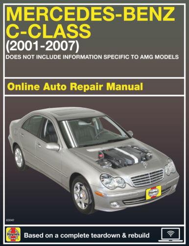 2001 Mercedes-Benz C320 Haynes Online Repair Manual-Select Access