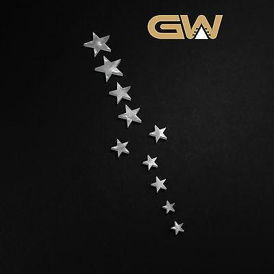 Set of Star Inlays for Guitar