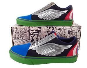 Vans x Marvel Avengers Old Skool Sneaker Hulk Captain America Thor ... 37b2ce116ed5a
