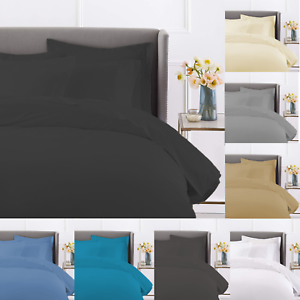 100-Egyptian-Cotton-Duvet-Quilt-Cover-Bedding-Set-With-Pillowcases-In-All-Sizes