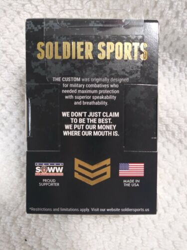 Soldier Sports Yellow Fang /& Camo mouthguard 2-pack NEW $50,000 Dental Warranty