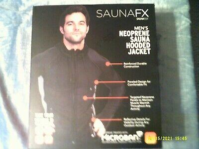 L Neoprene Sauna Hooded Jacket SAUNAFX Men's Jacket