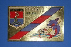SCUDETTO CALCIATORI PANINI 1976/77 TARANTO N.503 SERIE B AUTOADESIVO REC/REMOVED