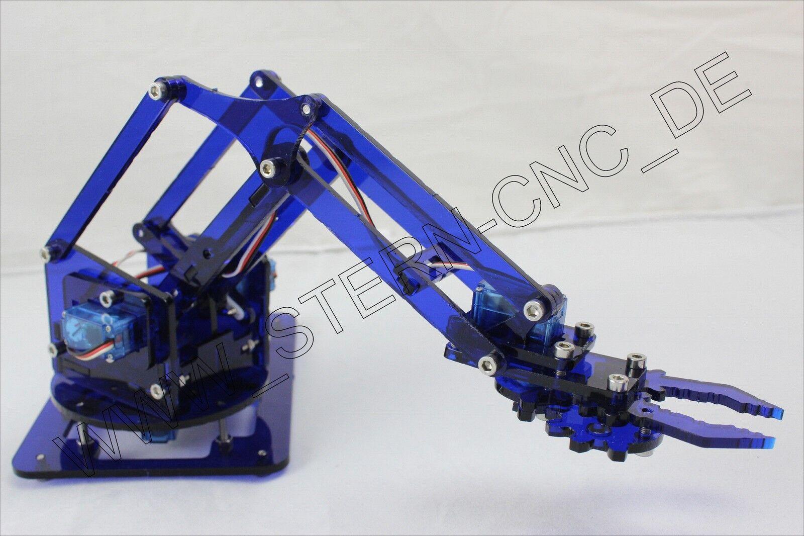 Robot Arm Star-Gripper 4 Axles Servo Arm for Arduino Robot Arm