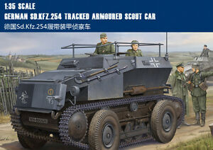Hobby Boss 1//35 Sd.Kfz 254 Tracked Armoured Scout Car # 82491