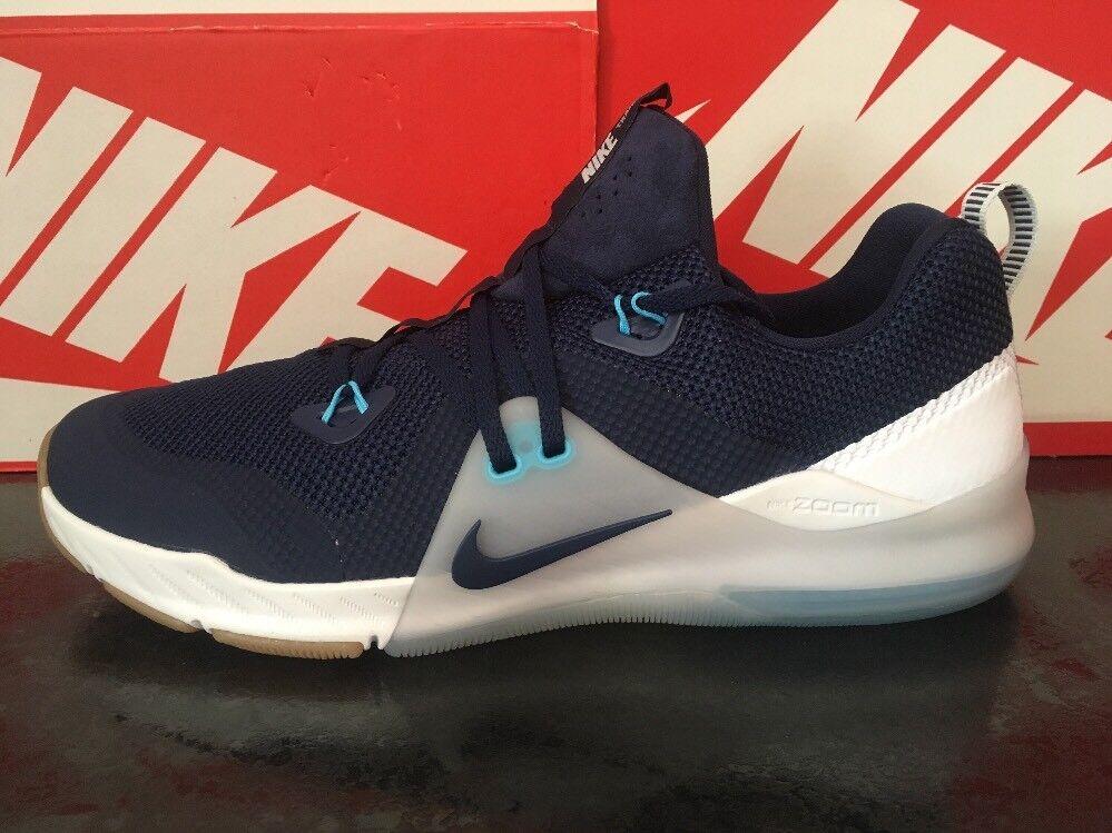 Nike Zoom Train Command12 EU 47.5 US 13 Hommes Training Chaussures 922478-400 bleu