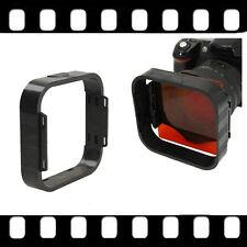 Square Filters Lens Hood for Cokin P Series Holder Sunshade Black