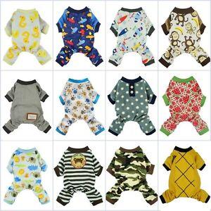 Fitwarm-Boy-Adorable-Dog-Clothes-Pet-Shirt-Cat-Pajamas-Jumpsuit-Small-Medium-XL
