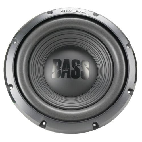 "Alpine W12S4 12/"" 750W Max Single 4-Ohm BASS Series Car Audio Subwoofer NEW"