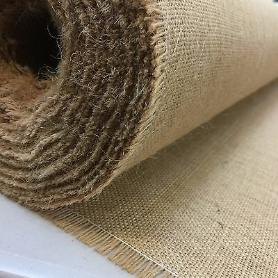 Luxury Premium Hessian 100% Jute 10 oz Fabric Material * 100cm wide *