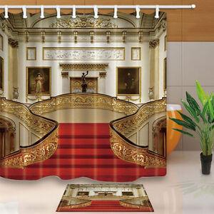 Buckingham Palace Shower Curtain Bedroom Waterproof Fabric