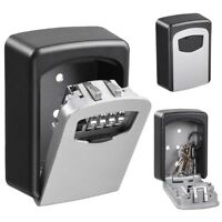 Yescom 4 Digit Combination Key Lock Box Wall Mount Safe