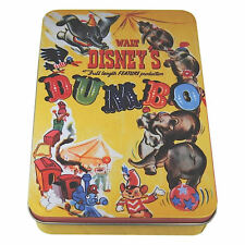 DUMBO ORIGINAL FILM POSTER STORAGE TIN RETRO DISNEY ELEPHANT METAL GIFT MOVIE