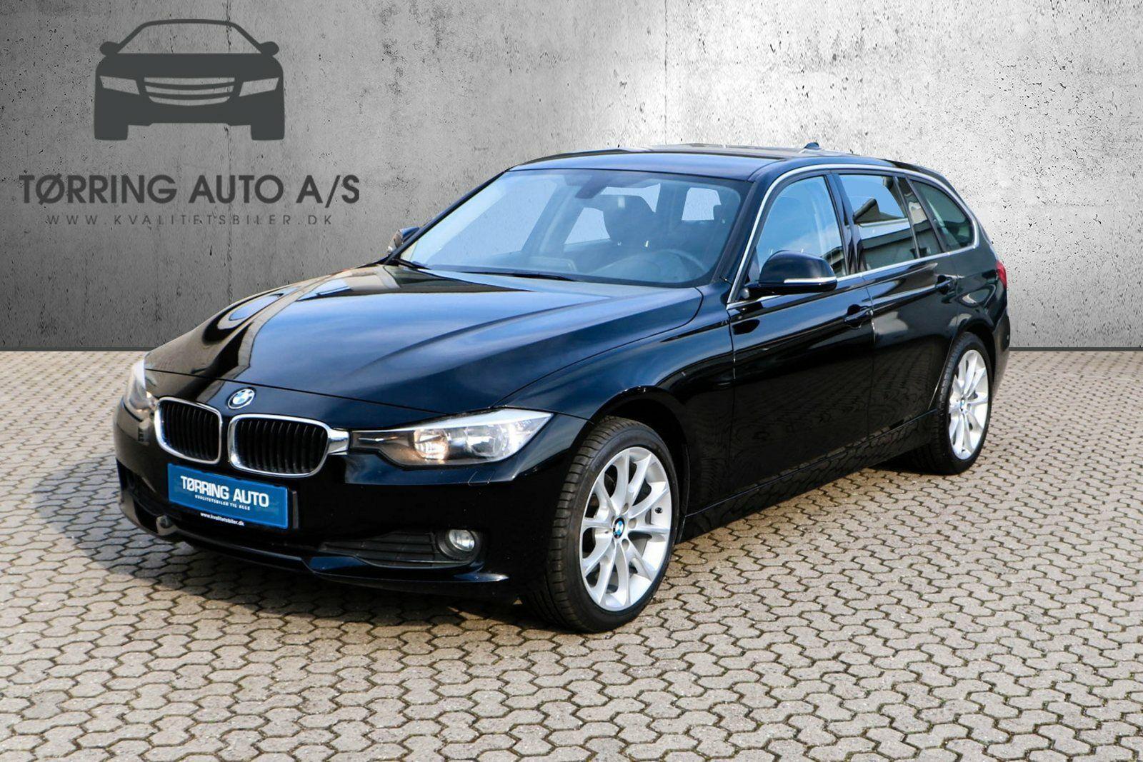 BMW 320d 2,0 Touring 5d - 174.900 kr.