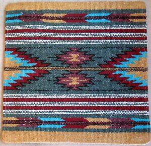 Aztec Pillow Cover HAPCAzt-T Hand Woven Acrylic Southwest Southwestern 18X18