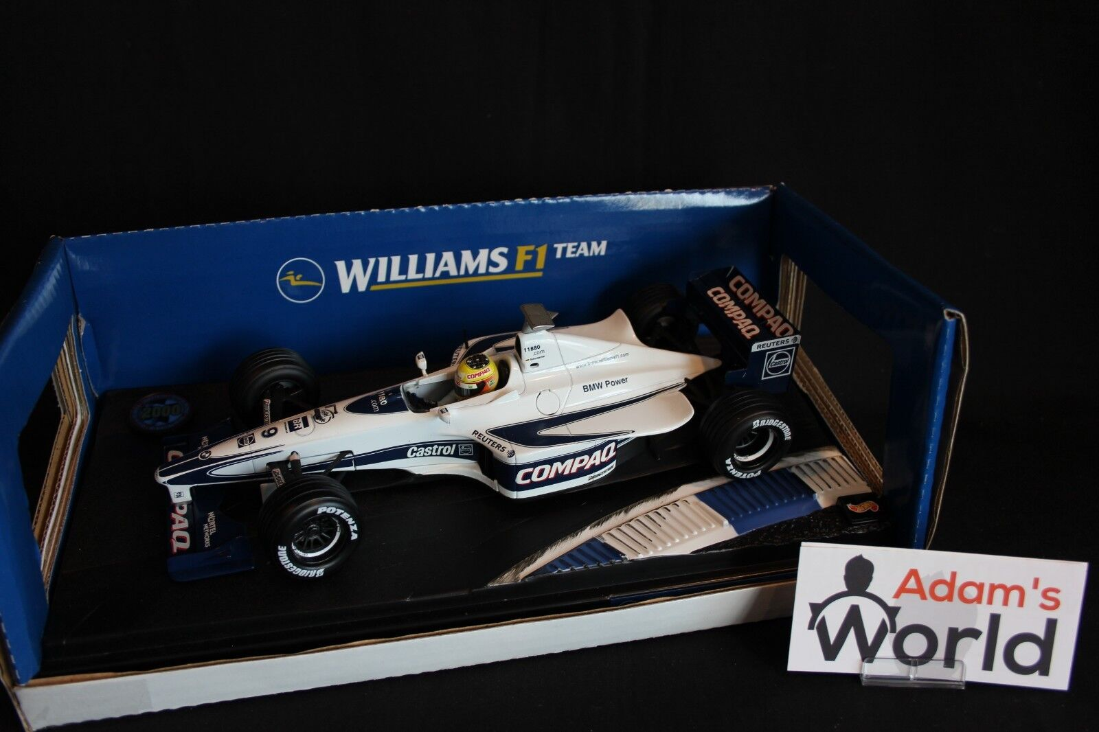 Hot Wheels Williams BMW Launch car 2000 1 18 18 18 Ralf Schumacher (GER) ae44b4