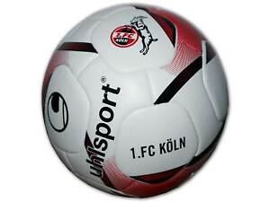 Uhlsport-1-FC-Koeln-Fussball-Training-Freizeit-Gr-5-Effzeh-Fan-Ball-Koeln-weiss