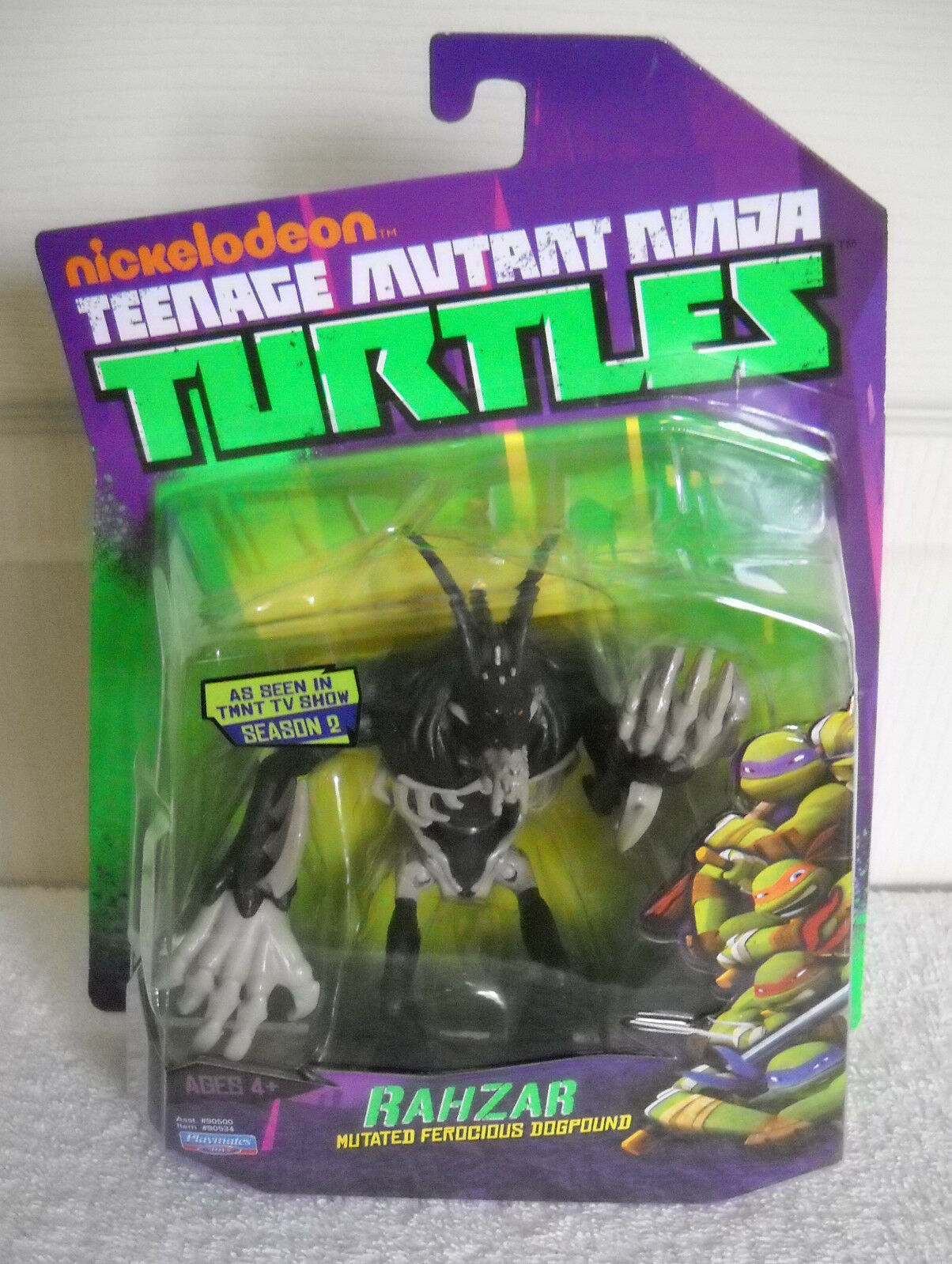 NRFC Playmates Teenage Mutant Ninja Ninja Ninja Turtles Rahzar Figure Mutated Dogpound e7bf24