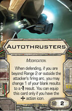 X-Wing Miniatures Autothrusters Modification Single Upgrade Card