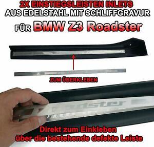 Reparatursatz-Edelstahl-Einstiegsleisten-fuer-BMW-Z3-Coupe-Gravur
