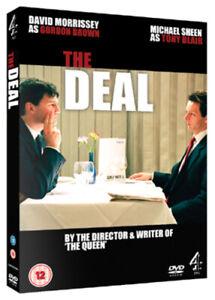 The-Deal-DVD-2008-Michael-Sheen-Frears-DIR-cert-12-NEW-Amazing-Value