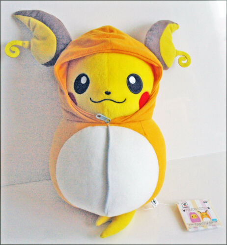 BANPRESTO Pokemon Plush Doll Pikachu Nebukuro Sleeping Bag Raichu 36407